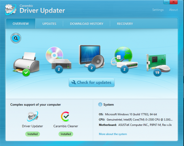 driver update software free download windows xp